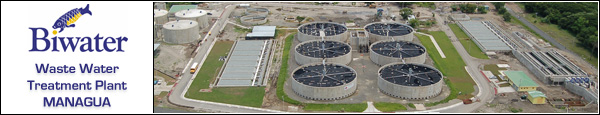 Clic This Image to visit the Official Biwater - Waste Water Treatment Plant for Managua, Nicaragua
